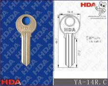 YA-14R.C Door blank brass key
