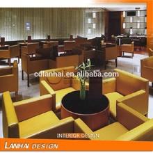 Elegant Restaurant Interior Decoration Design