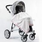 Hot Sales 100% Cotton Infant Car Seat Cover