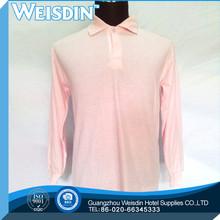 220 grams 5 star viscose/cotton single pique solid color polo shirts