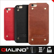 Brand New Good Quality Competitive Price First Layer Leather 0.03Mm Ultrathin Plastic Case For Iphone 6