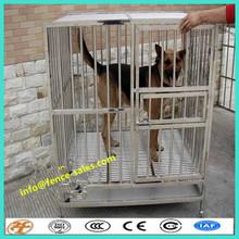 5'x10'x6' folded steel dog kennel