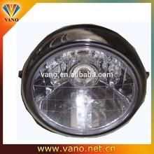 "High Quality CG150 Headlamp Motorcycle 7"" chrome headlight"