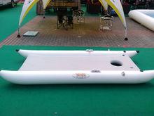 Color blanco cámaras 3 multi- funcióninflable barco barco de rescate yate de motor para la venta