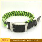 genuine leather dog collars