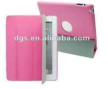 Hot Stylish Folding Tablet PU Leather Case For iPad