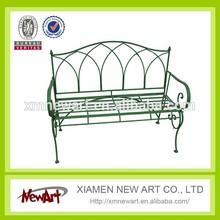 New product China supplier garden benches cheap sofa metal antique cast iron garden bench chair furniture