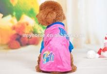 2014 Hot sale colorful pet dog clothes warm T-shirt, Winter pet dog clothing