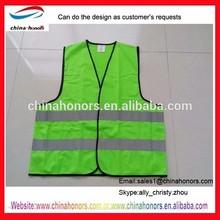 motorcycle reflective safety vest/ lime green safety vest