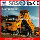 6*4 drive HOWO clay transport dump truck