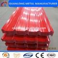 matériaux de construction en acier galvanisé enduit par couleur zinc tôle de toiture prix