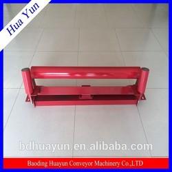 127mm dia flat carry idler for bulk material handling system