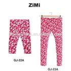 printed Skinny kids /Childern Girls PESSIB pants