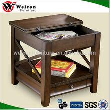 folding glass coffee table