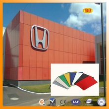 COLOR high quality plastic exterior wall decorative panel