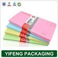 özel baskı fantezi kağıt Zarf, ücretsiz örnek üretici paket listesi zarf
