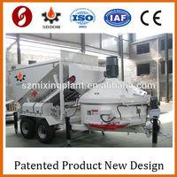 Best Selling Wet Mix 20M3/H Mobile Concrete Batch Plant