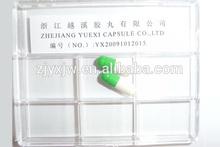 2# verde branco cápsulas de gelatina / tamanhos 00,0 0 # l 1 2 3 4# em qualquer cor