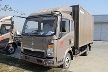 widly used 4x2 HOWO van cargo truck with 6 wheel