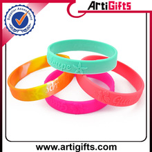 Best price customized qr code silicone hand band