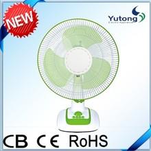 "12"" high powerful electrical air intake desk/table fan"