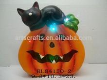 2015 Halloween decorative LED lighted pumpkin