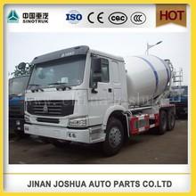 HOT SALES!!! HOWO cement mixer trailer / concrete mixing truck -Factory direct