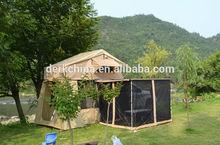 Acampamento ao ar livre tenda bolha
