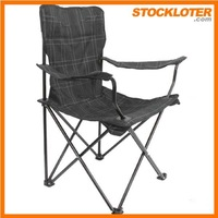China stocklots Cheap folding beach chair closeout with wheels, 141203h