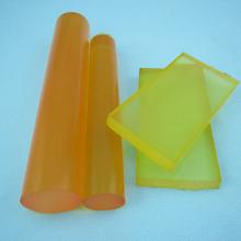 80 - 90A Shore Hardness Light Yellow Transparent Polyurethane Blocks