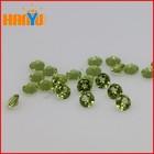 Small Round Natural Peridot Beads Gemstones