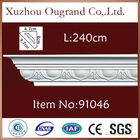 eco-friendly PU interior moulding decorative materials for wall&roof Bevel Width:9.7cm