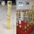 acrílico elegante escalera de barandilla para decoración de la casa