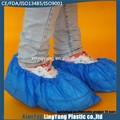 Amostra grátis azul descartável tampa da sapata com CE ISO FDA