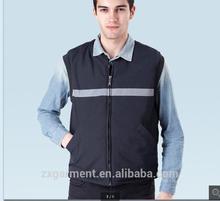 2015 Outdoor Working Vest; Padded Windproof Body Warmer Vest; Breathable Sleeveless Work Vest