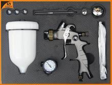 SAT1215B-K simple use and chrome paint sprayer two component spray gun