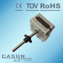High precision nema 14 captive hybrid linear actuators Tr5x2mm lead screw step motor