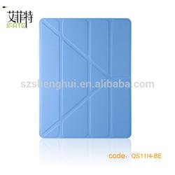 PU leather case for ipad 4 leather case for ipad 234