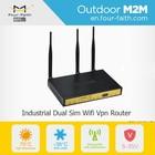 F3B32 Industrial Wireless Wifi Ethernet 3g 4g modem lte router dual sim card