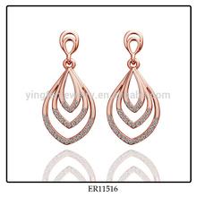 New Model Earring Rhinestone Gold Indian Earring