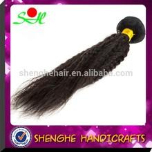 top fashion raw unprocesse hair weft brazilian virgin hair yaki straight hair