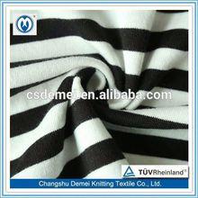 aluminum foil fabric100% cotton susa striped nylon jersey fabric wholesale