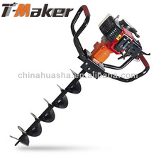 Auger drill High quality strong power portable pertol Engine hand displacement gasoline earth drill