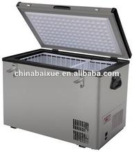 60L Portable single zone 12v solar power car fridge freezer