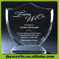 moda plástico transparente troféu
