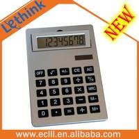 A5 big size desktop Calculator with solar power