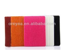 3 folios leather case for ipad air 2