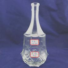 Elegant crystal empty reed diffuser glass bottle