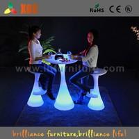 led bar furniture/reclining bar chair with footrest/bar stool high chair
