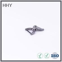 metal strap h shape bag clip buckle